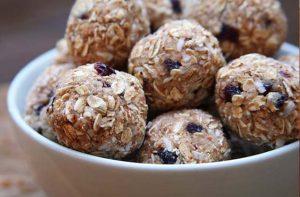 cherry-almond-coconut-protein-balls