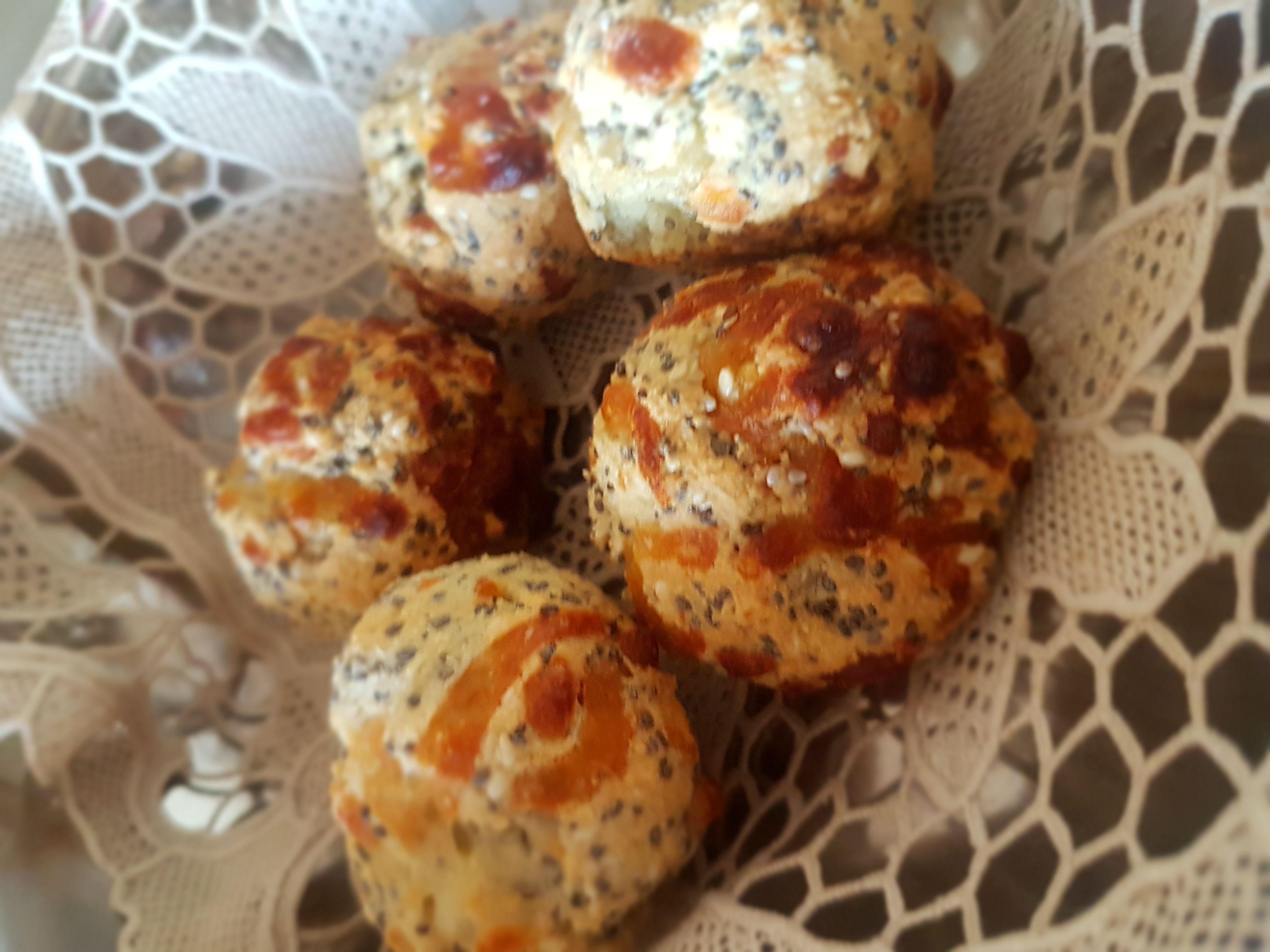 Cheese Bread with Chia